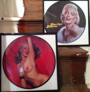 Framed Marilyn Monroe by Sealed in time (photo courtesy of Kris Roach)
